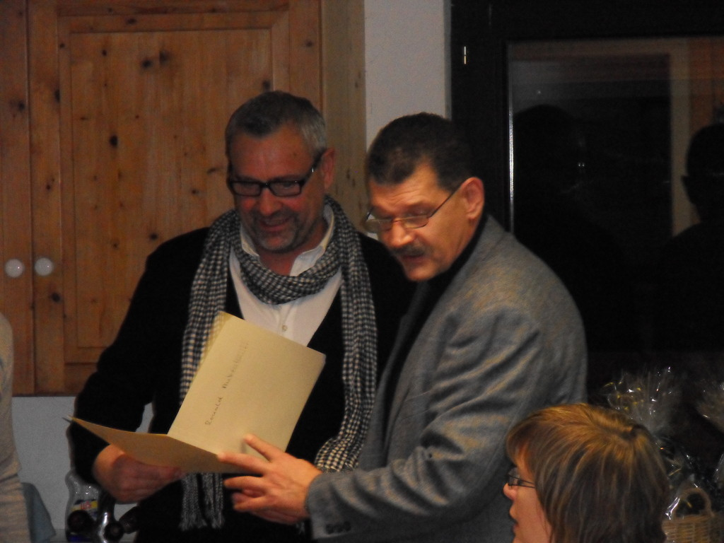 Ronald Ankenbauer (50 Jahre MGL) u. VS-MGL Norbert Simm