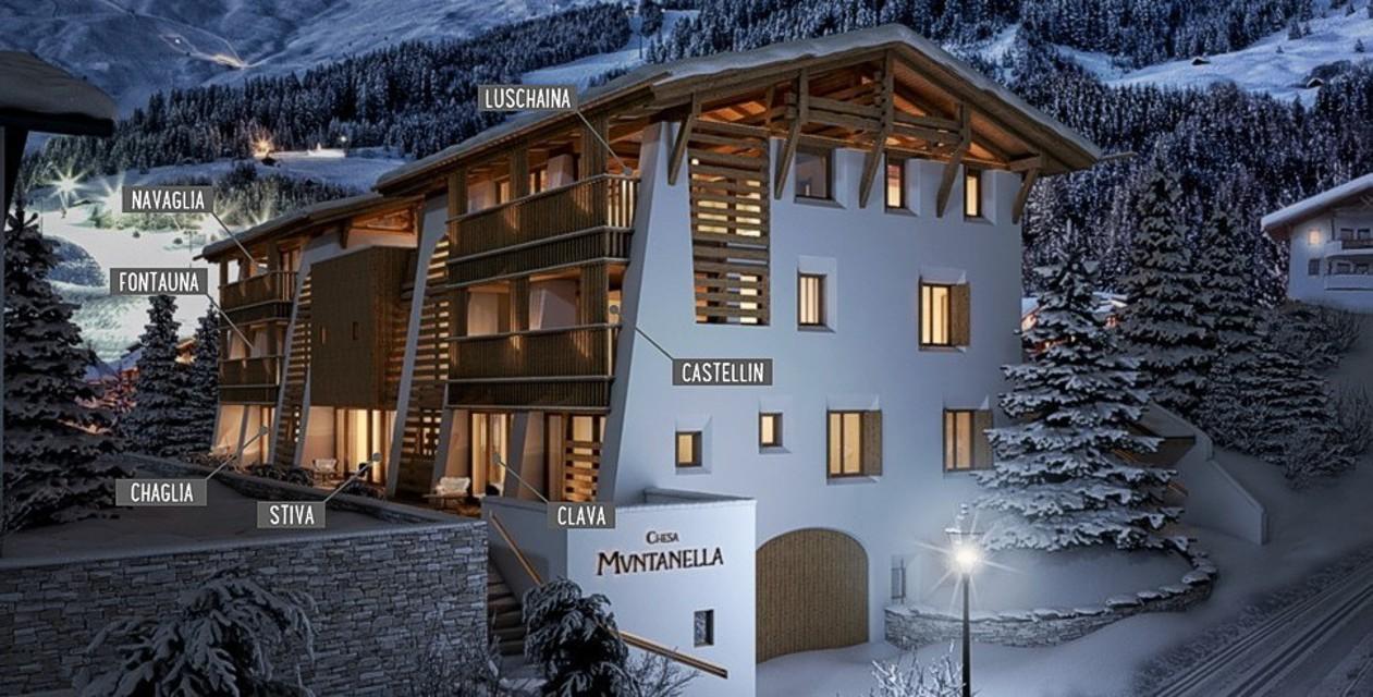 Chesa Muntanella - Chalet Suites in Fiss