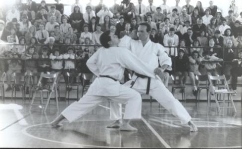 1990 - Dimostrazione M° Gazich e M° Andrea Grasselli