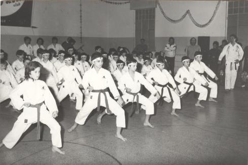 1982 - Dimostrazione Colonia Elioterapica