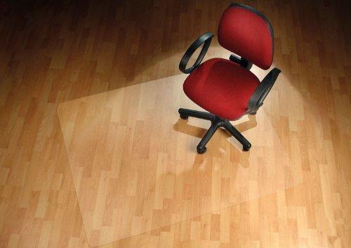Floordirekt PRO - 15 Größen zur Wahl - Polycarbonat Bodenschutzmatte transparent mit TÜV für Hartböden