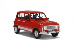 Voiture miniature Renault 4L clan SOLIDO
