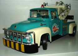 Ford F-100 dépanneuse Tow truck de 1956 Welly