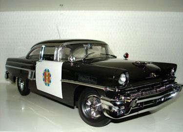 MERCURY MONTCLAIR POLICE 1956