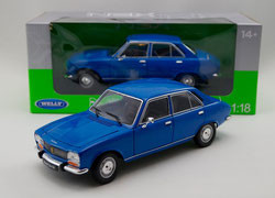 welly 504 peugeot 1/18