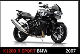 BMW K1200 R sport