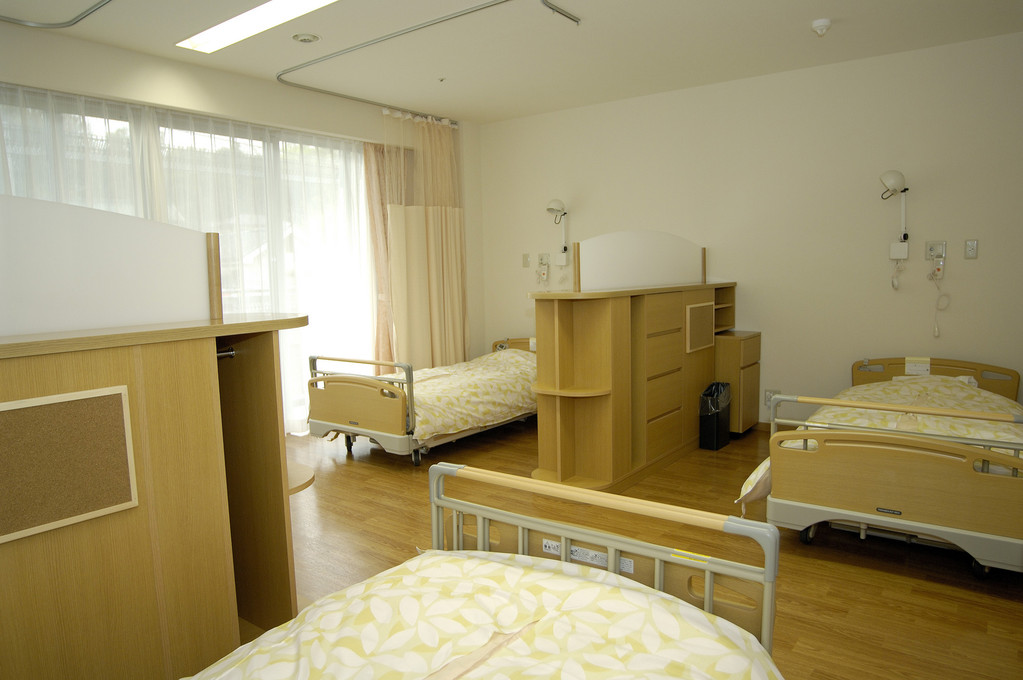 2階 多床室のお部屋です。