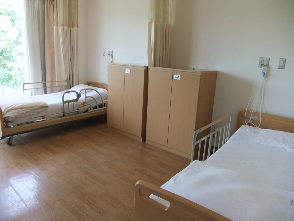 3階 専門棟の多床室です。