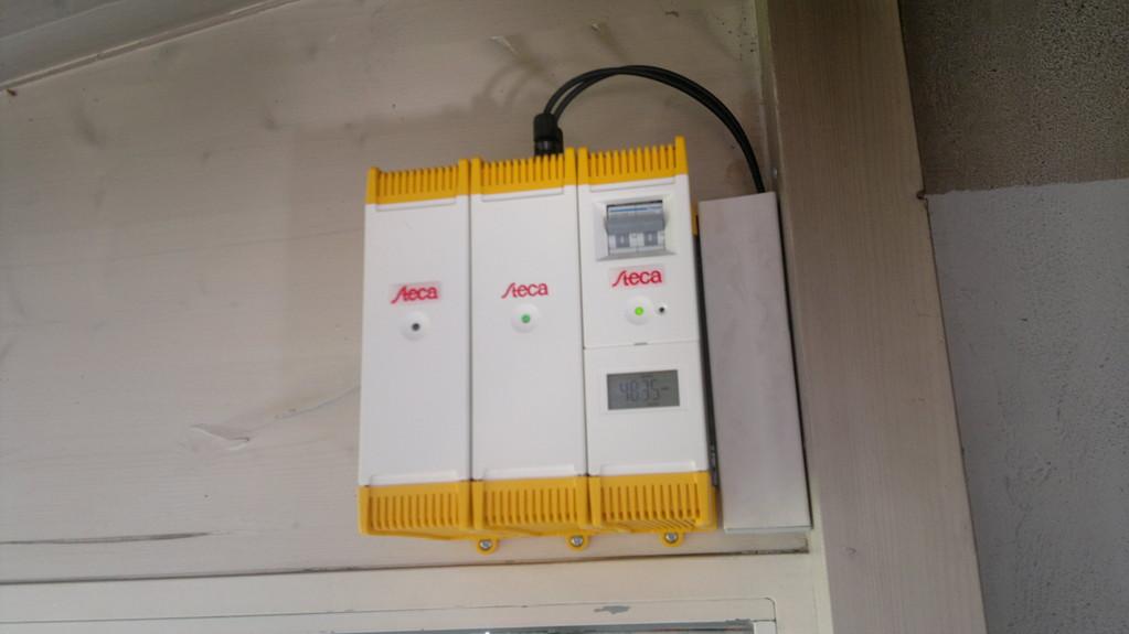Kleinanlage zur CO2-Neutralisierung des Whirlpools in Mels