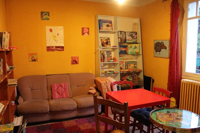 """la """"salle jaune"""" avant..."""