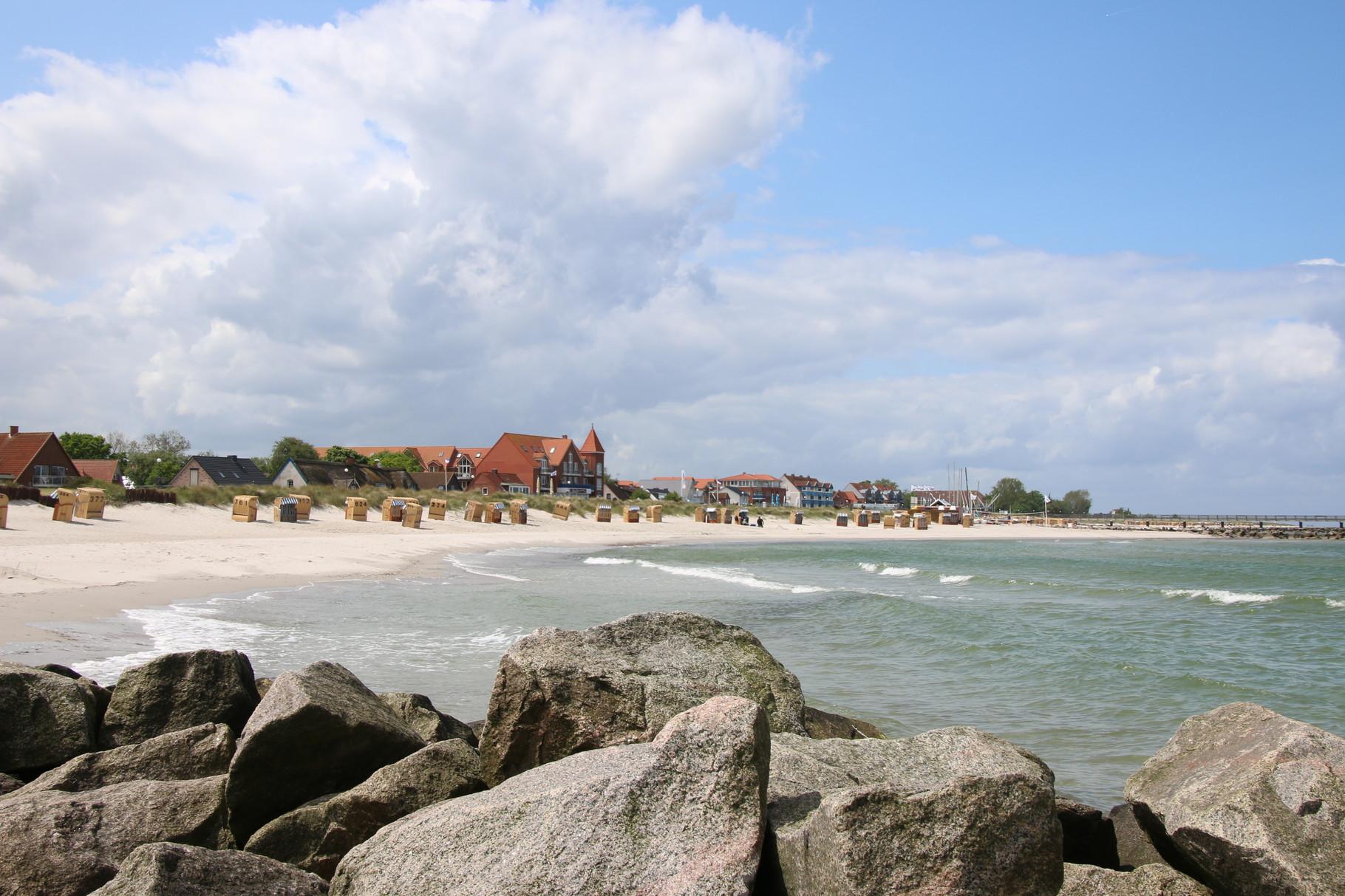 Klar, zum Schönberger Strand ...