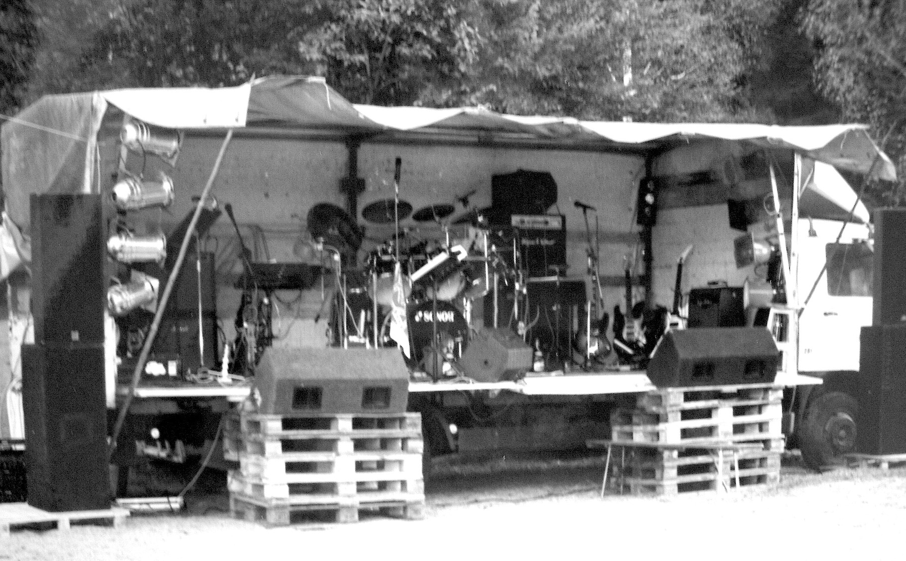 Die erste PROOF Bühne