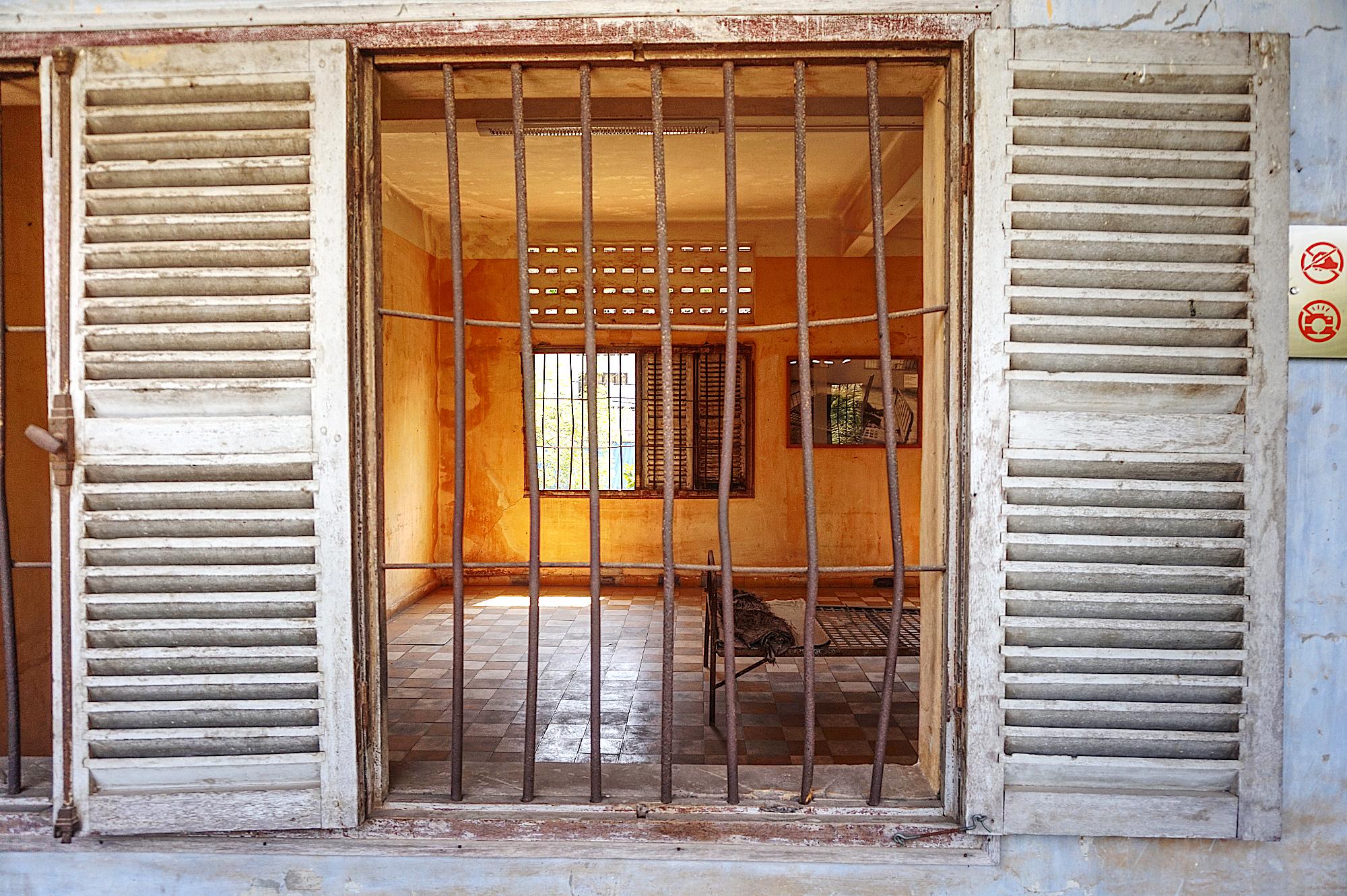 Blick auf die absurde Folterkammer