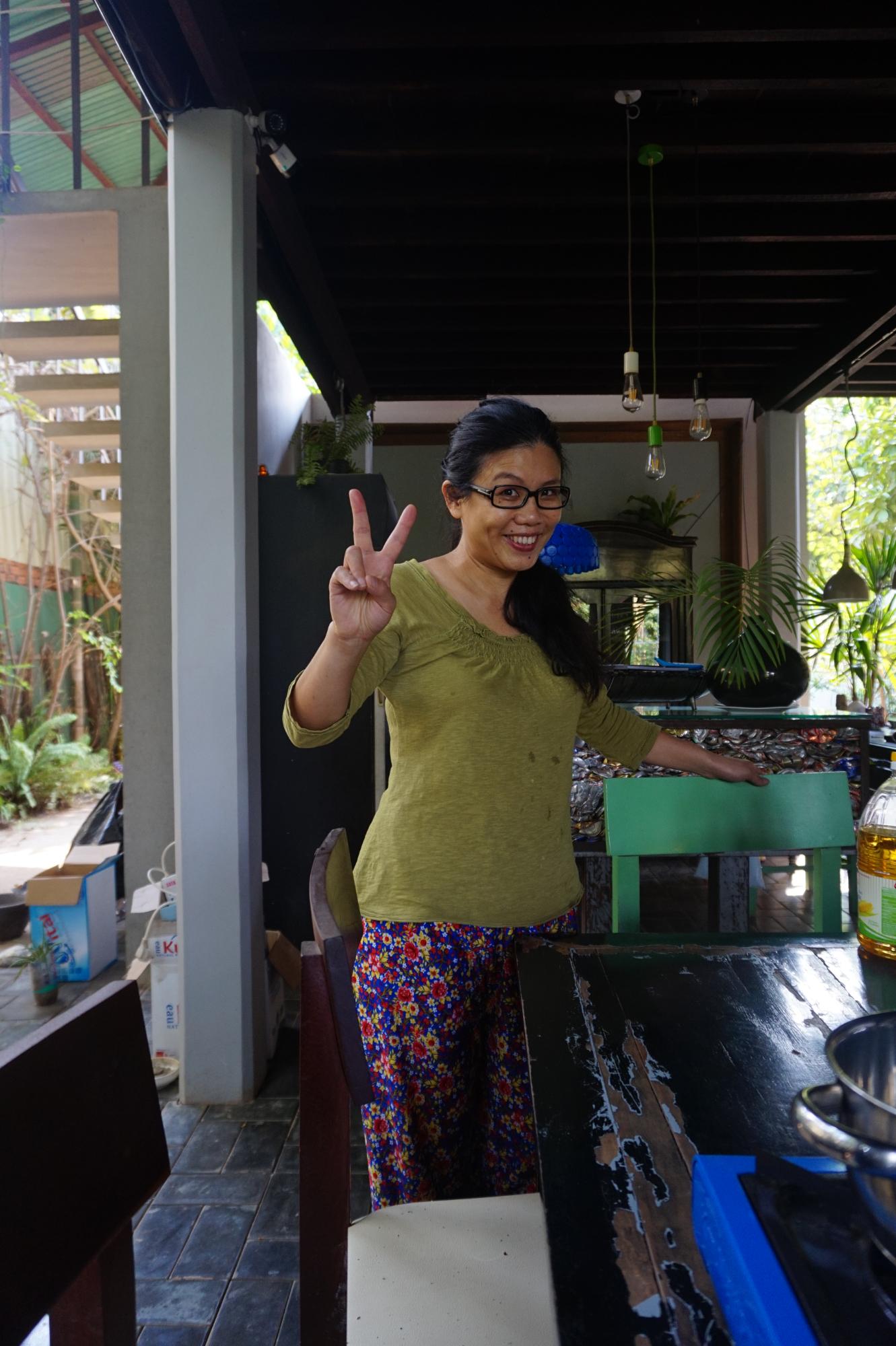 Lucy aus Taiwan - Die Gattin des Kochs