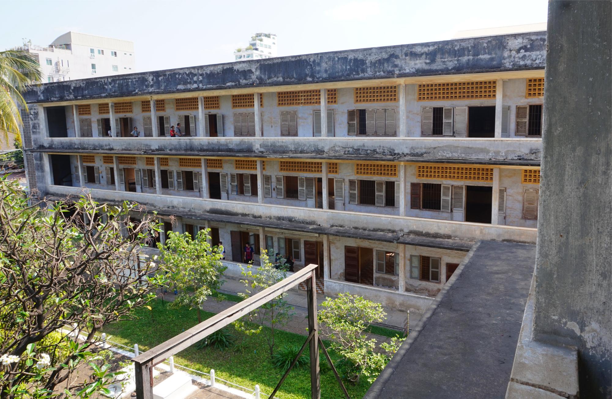 Eine ehemalige Schule wurde zur grausamen Folterkammer