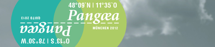 Pangaea - Künstlerischer Austausch München 2012 - Quito 2013 (Logo)