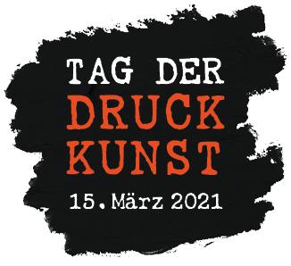 Logo Tag der Druckkunst 15. März 2021