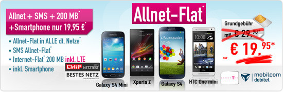 Aktion t-mobile Allnet