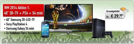 Fußball WM Aktion 1 von 4