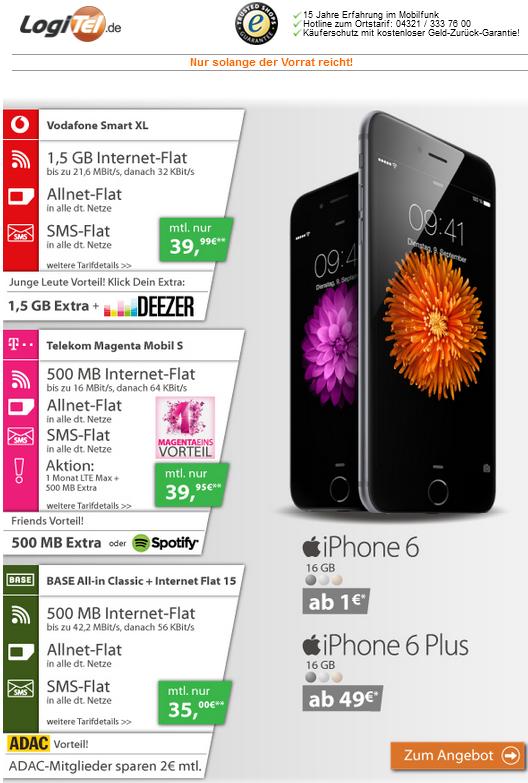 apple iphone 6 und iphone 6 plus im vergleich free. Black Bedroom Furniture Sets. Home Design Ideas
