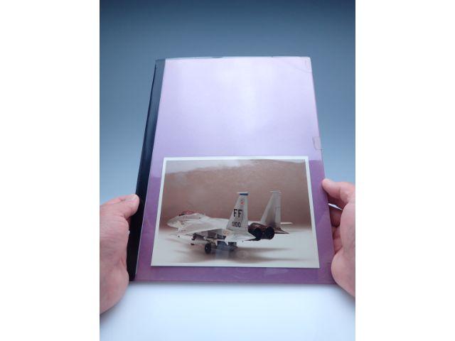 試験会場に持ち込みきれない作品は写真集でアピール。全作品、スピードを意識して作りました。