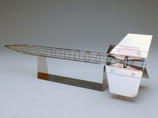 エアロベース(aerobase)[R001] 実物大 ペンシルロケット