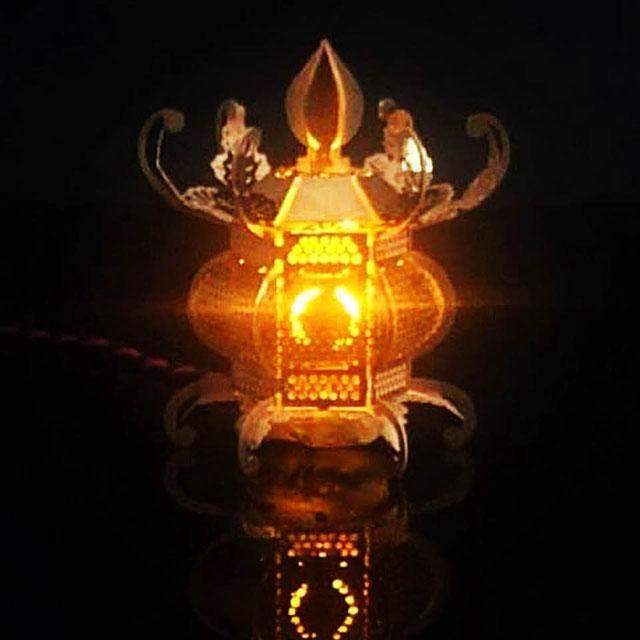金灯籠(かなとうろう)のLED電飾