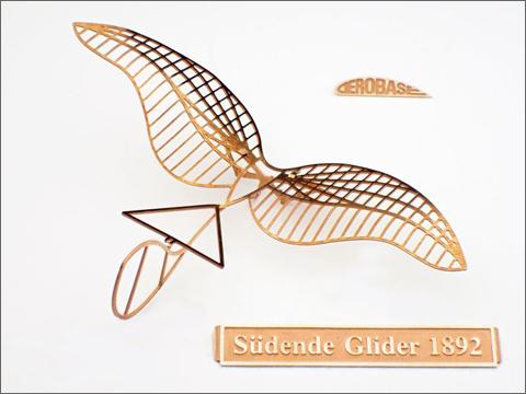 エアロベース(aerobase)[L003] リリエンタールのズデンデ型グライダー 1892年式