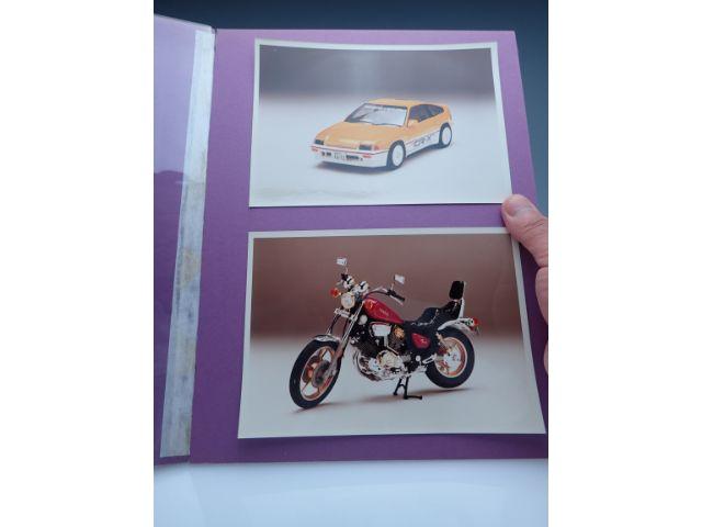 一番多く製品化されている=メインとなる仕事の意味で、自動車とオートバイも作ることをアピール。