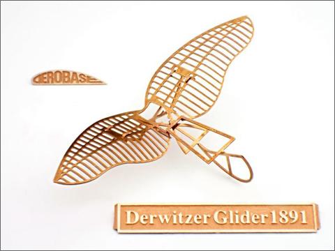 エアロベース(aerobase)[L002] リリエンタールのデルヴィッツ型グライダー1891年式