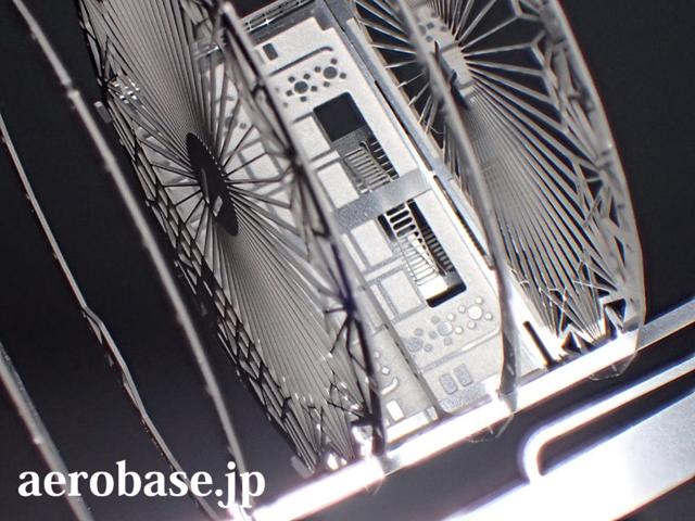 エアロベース(aerobase)C002 ヒンデンブルク号の説明図-改訂版