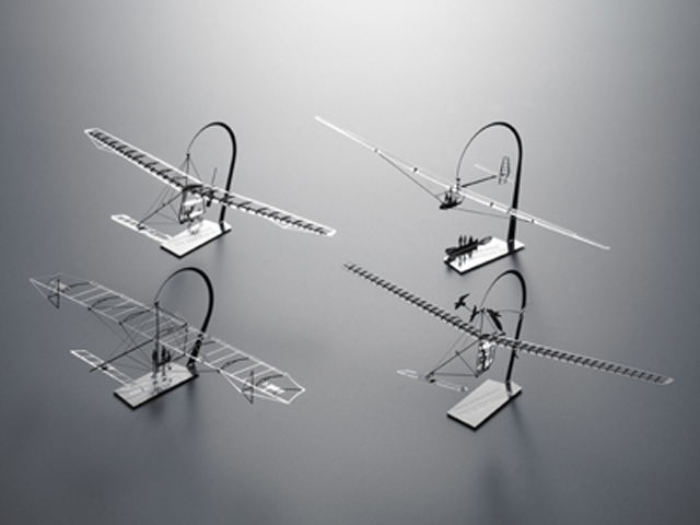 人力飛行機シリーズの開発