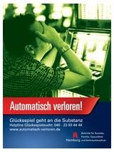 Helpline Glücksspiel Automatisch verloren!