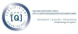 Zertifikat Cert iQ DIN EN ISO 9001