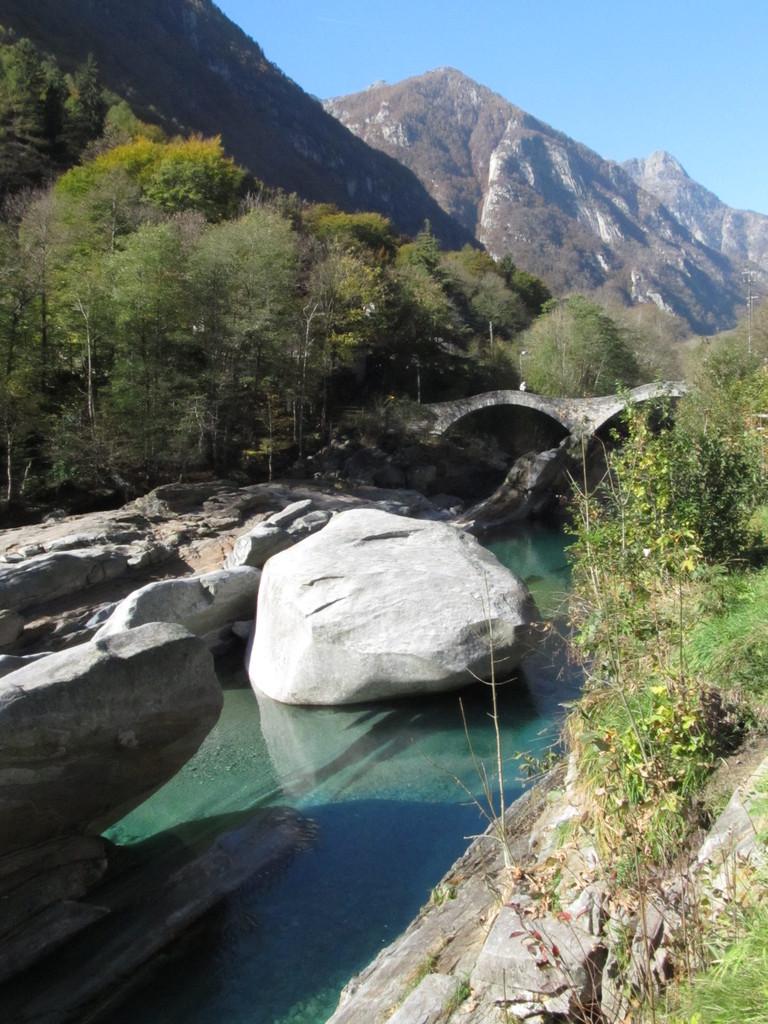 Camellobrücke im Verzascatal