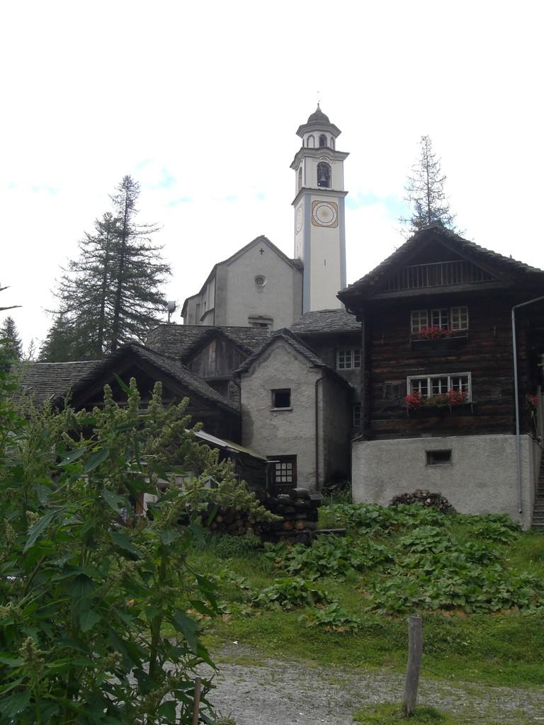 Bosco Gurin im Maggiatal