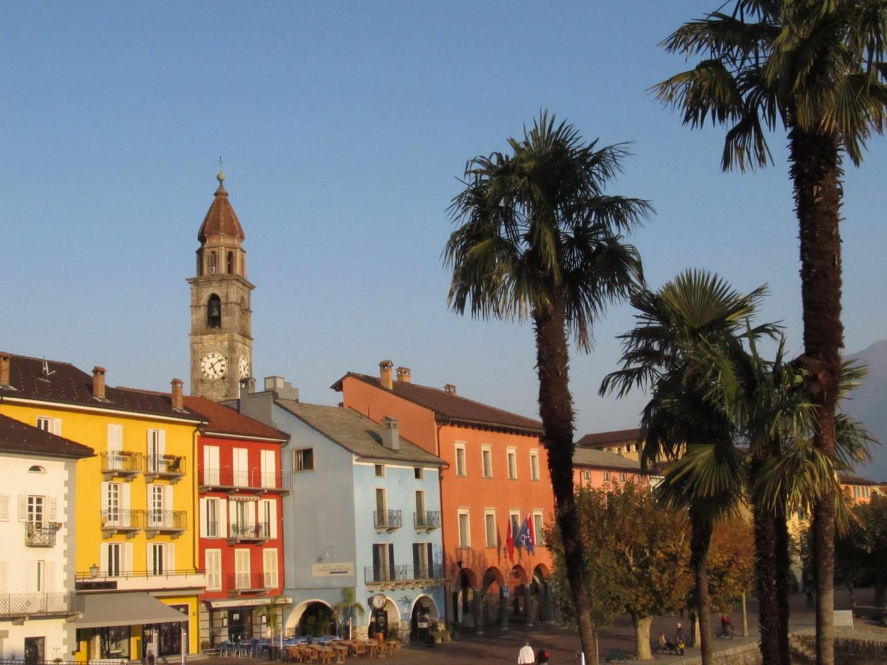 Die Kirche von Ascona