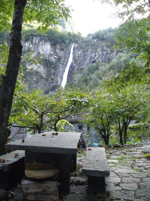 Der Wasserfall aus einer anderen Perspektive