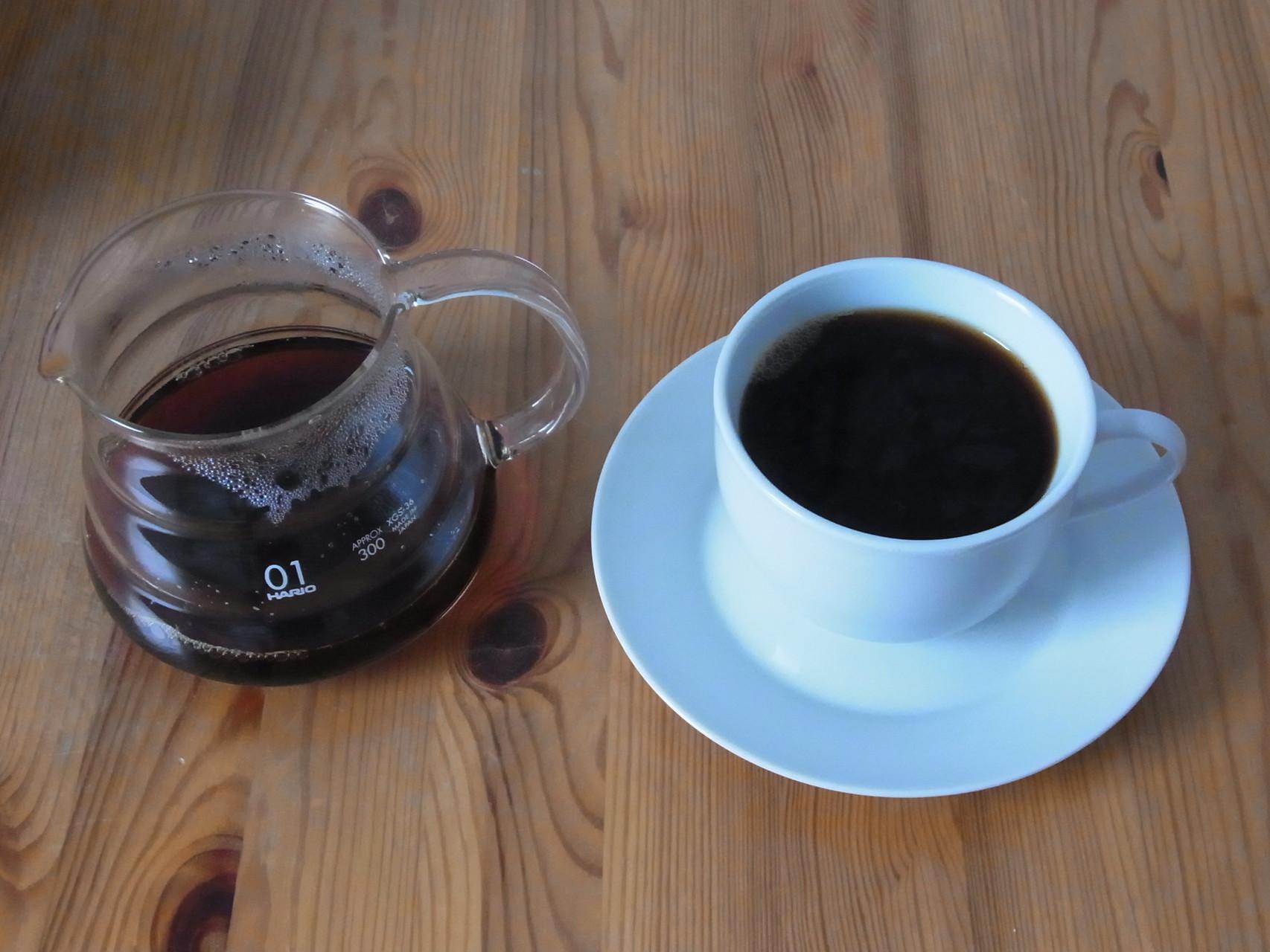 Für guten Kaffeegeschmack sollten wir hier im Bereich von 18% - 22% gelösten wertvollen Inhaltsstoffen aus der Bohne liegen