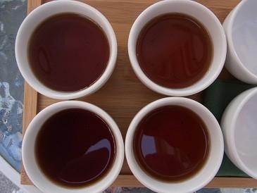 Pu Erh Tee - jahrelang gereift...ein Genuss