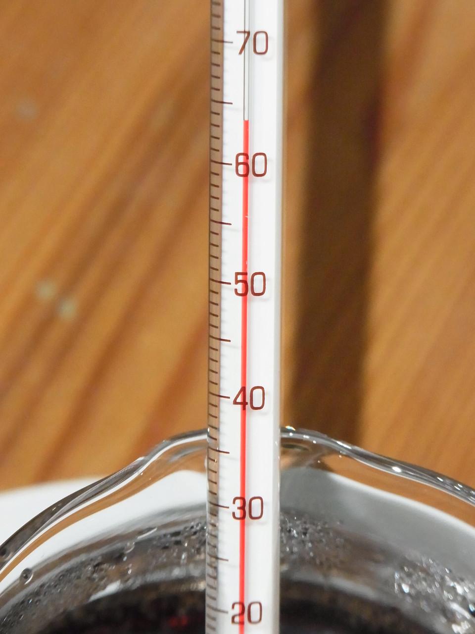 "Trinkfertige Temperatur - Erkennungsmerkmal: Guter Kaffee schmeckt ""heiß"" genauso wie ""kalt"""
