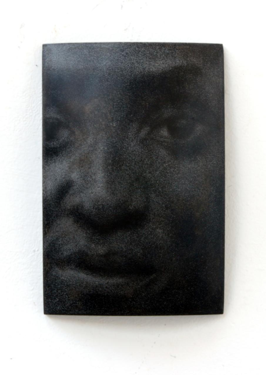 """Tolu"", Beton/Gravur, 36 x 24 x 9, 2008"