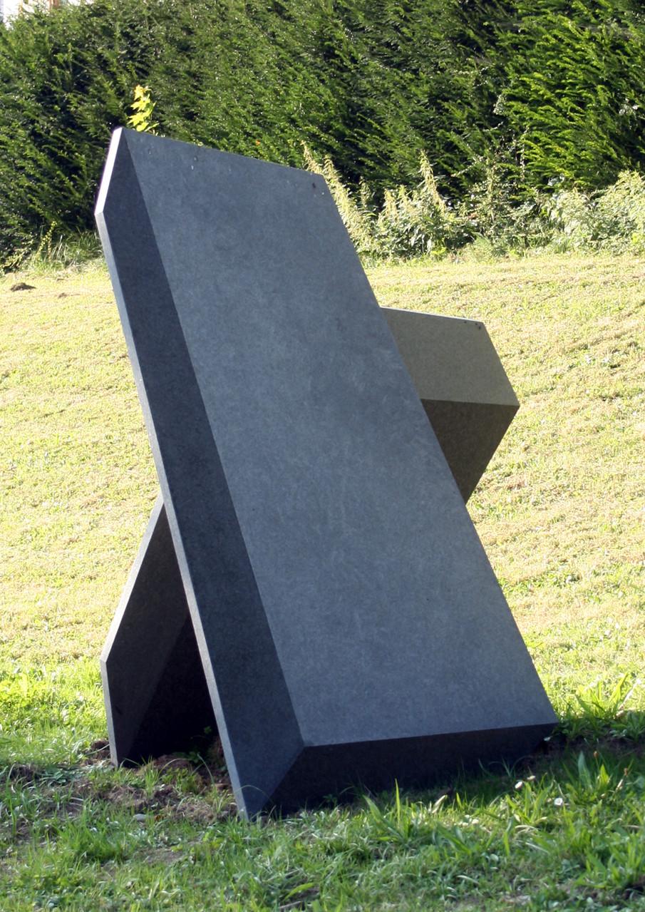 """""""Blöcke"""", Impala - Granit / unterschiedlicher Schliff, 150 x 124  x  62, 2007"""