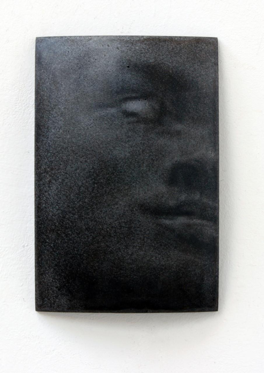 """""""Rom"""", Beton/Gravur,  36 x 24 x 9, 2008"""