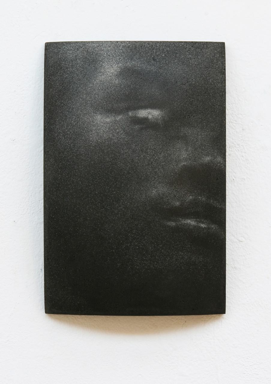 """""""Rom"""", Beton/Gravur,  36 x 24 x 9, 2014"""