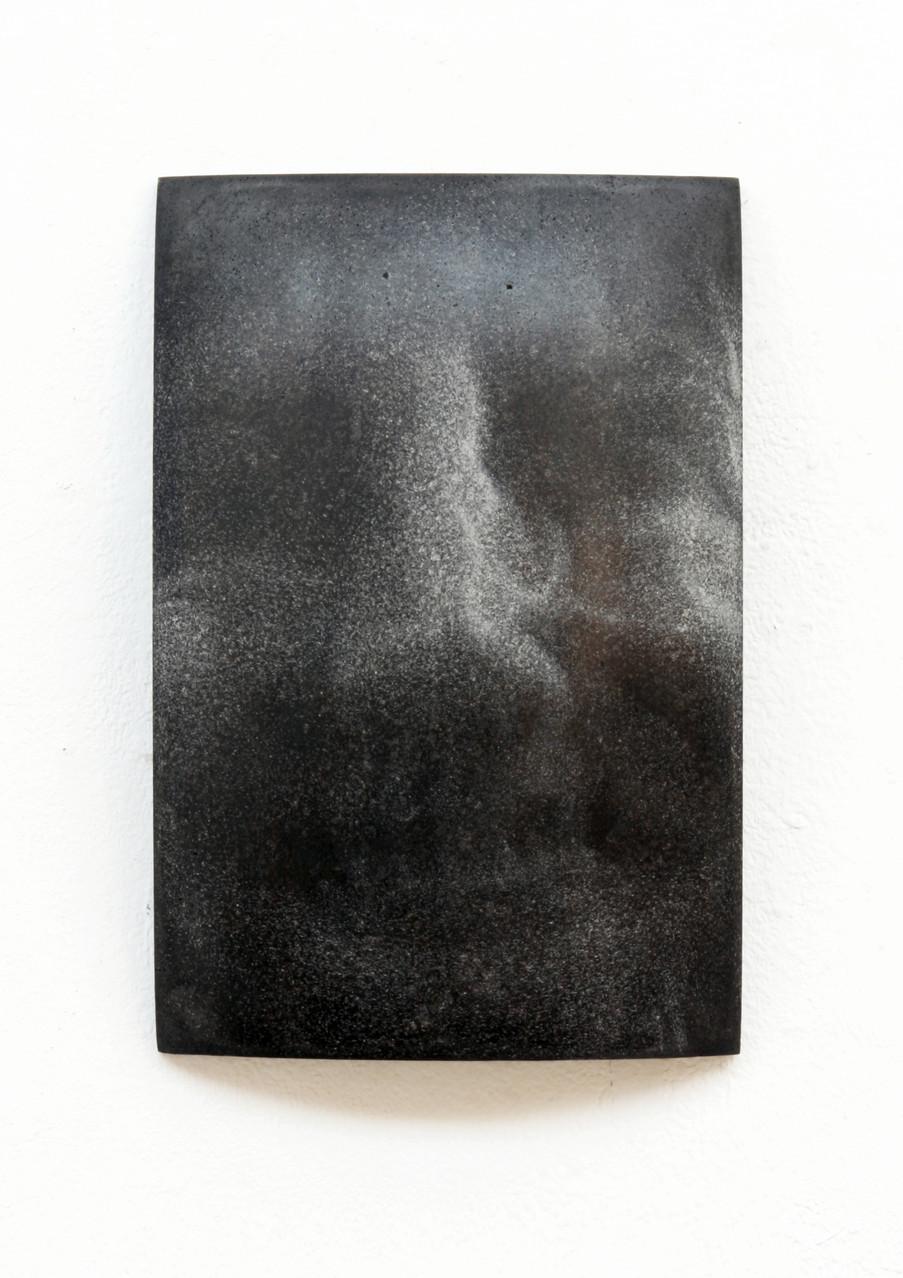 """Elisabeth"", Beton/Gravur,  36 x 24 x 9, 2014"