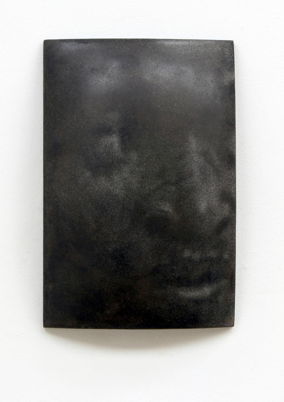 """""""Darid"""", Beton/Gravur,  36 x 24 x 9, 2008"""