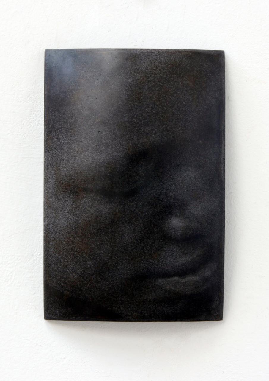 """Cleo"", Beton/Gravur,  36 x 24 x 9, 2008"