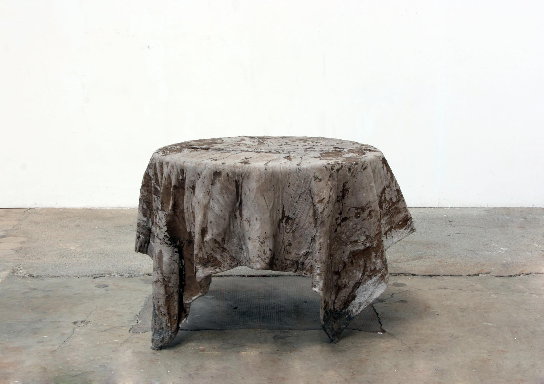 """""""concrete"""", Beton / Glasfaser,  80 x 120 x 120, 2008"""