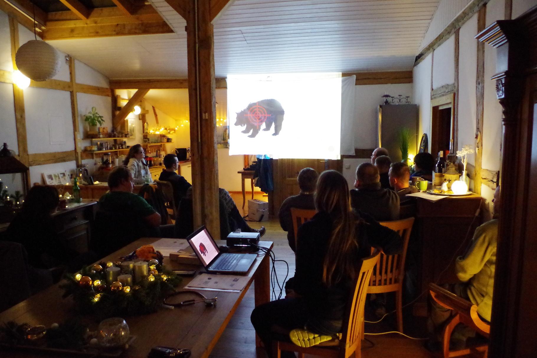 Seminar bei Tierärztin Svea Lucas